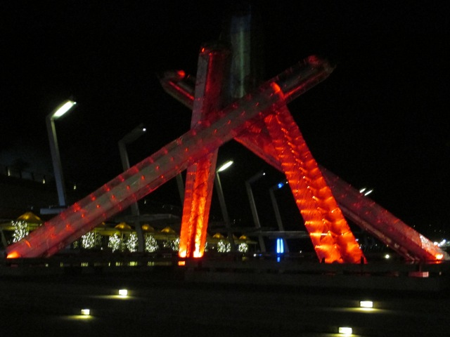 tesserology olympic cauldron