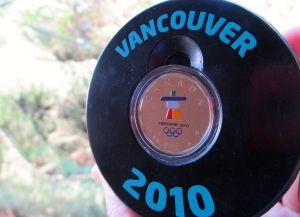 Olympic puck
