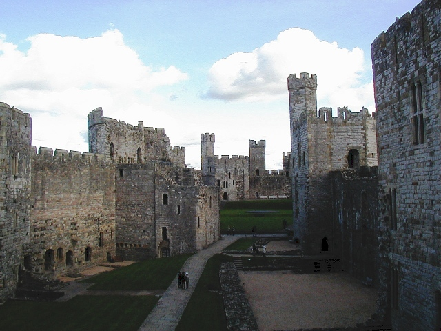 tesserology caernarfon castle