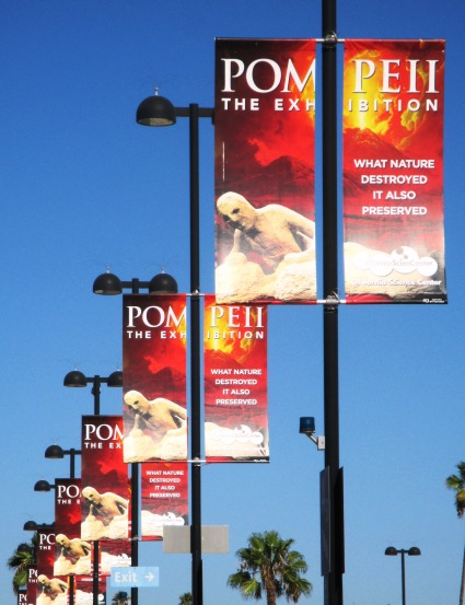 """Pompeii:  The Exhibition"" at the California Science Center"
