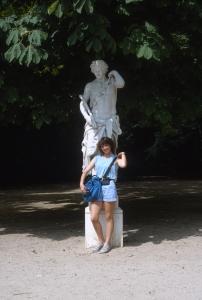 Appreciating European statuary...