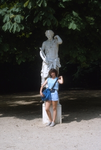 Appreciating European statuary...