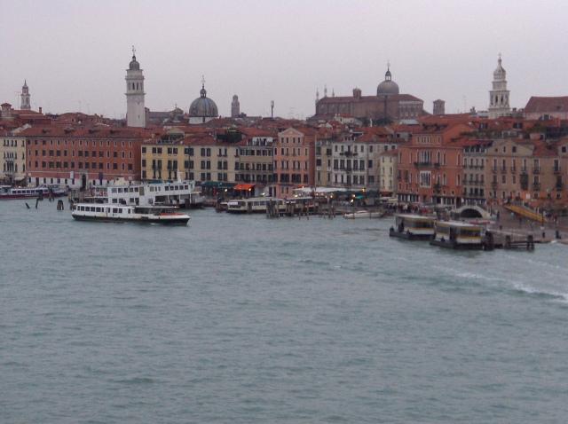 Venice in the rain.