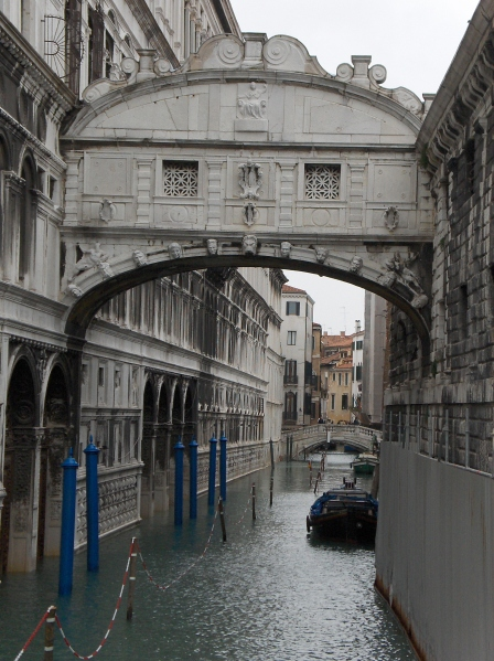 The Bridge of Sighs.