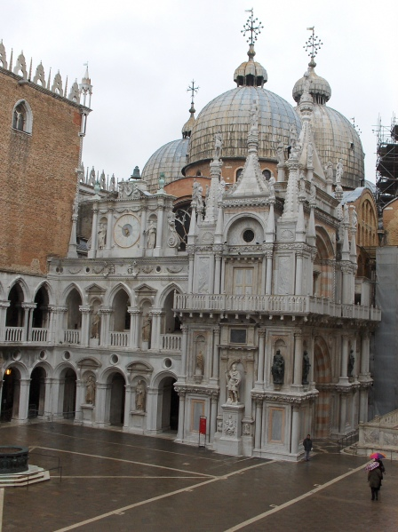 The Doge's Palace.
