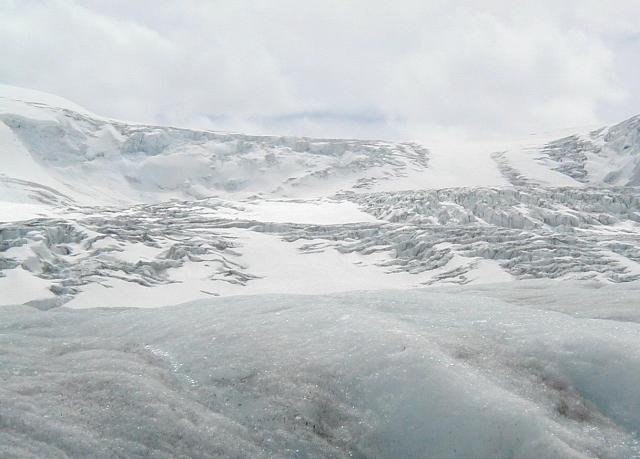 Athabasca Glacier.