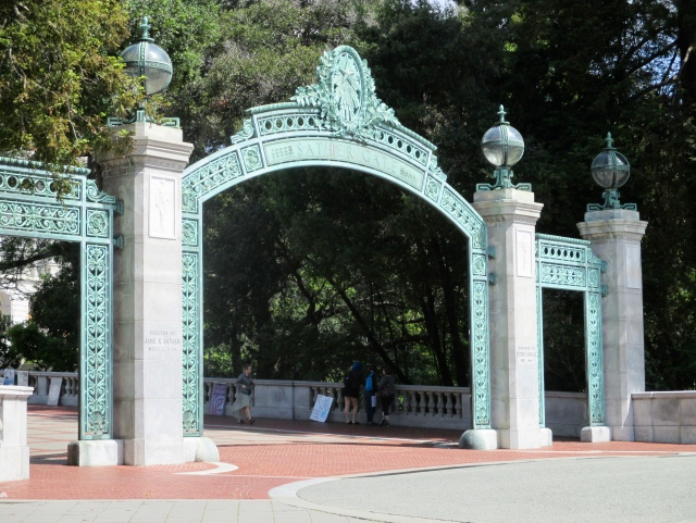 Sather Gate.