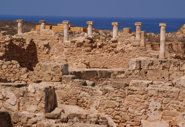 Pillars at Paphos