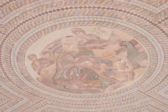 Mosaic at Paphos, Cyprus