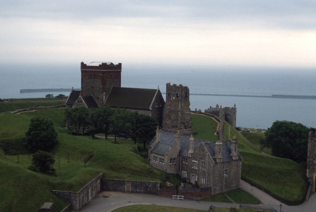 Lighthouse in Dover Castle, Dover, England