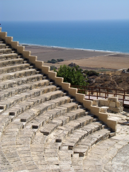 Theatre at Kourion, Cyprus