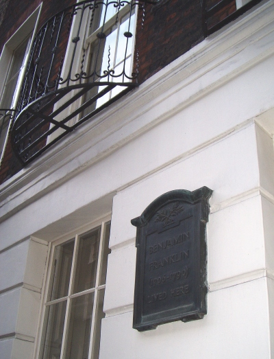 Yes! Ben Franklin's London home!