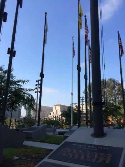 Flag Garden.