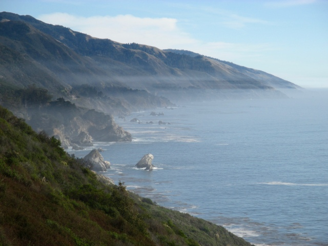 Big Sur coast north of Cambria.