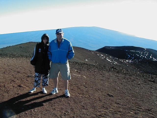 Conquering Mauna Kea.